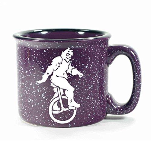 SASQUATCH Camp Coffee Mug - PURPLE