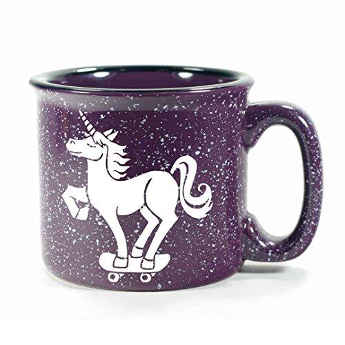 UNICORN Camp Coffee Mug - PURPLE