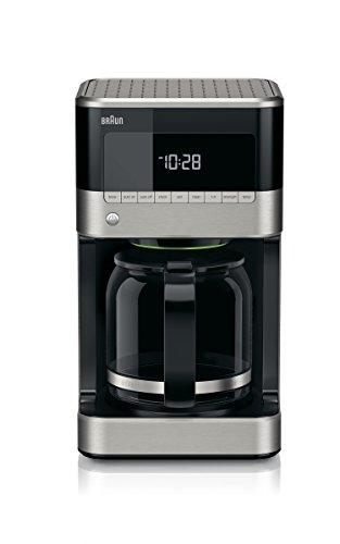 Braun KF7150BK Brew Sense Drip Coffee Maker Black