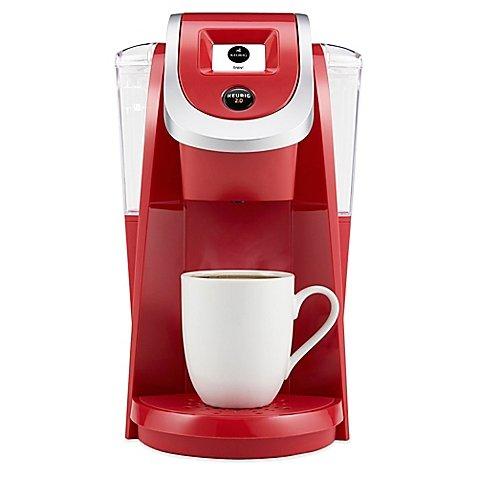 Keurig 20 K250 Coffee Brewing System Imperial Red