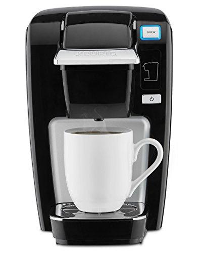 Keurig K-Mini K15 Single-Serve K-Cup Pod Coffee Maker Black