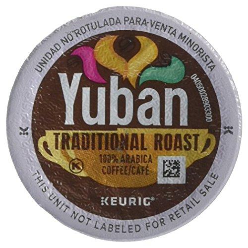 Yuban Gold Original Coffee Medium Roast K-CUP Pods 18 count Pack Of 4