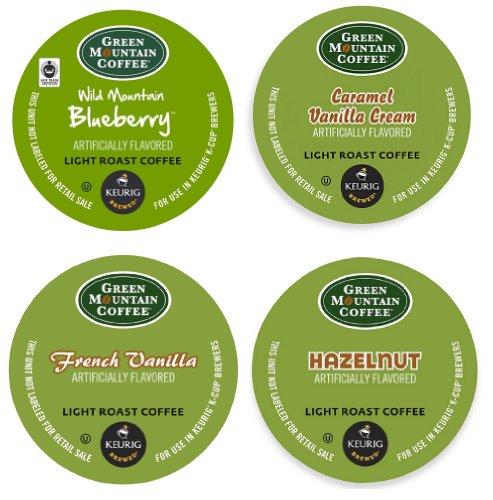 Green Mountain Flavored Variety 22 K-cups Keurig