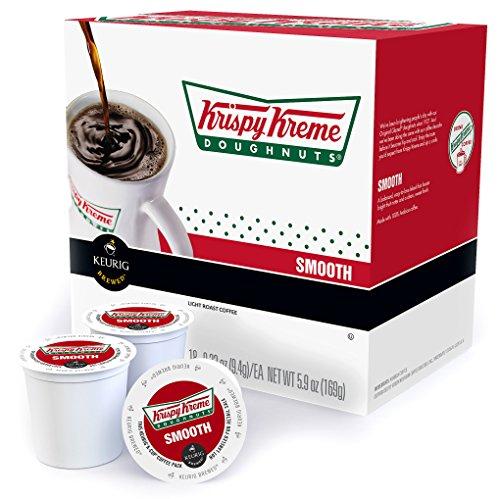 KEURIG KRISPY KREME DOUGHNUT COFFEE K-CUPS 18 K-CUPS