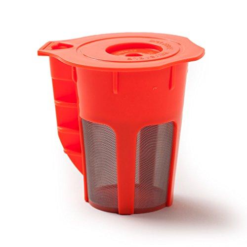 Reusable Carafe - Refillable Keurig Multi-beverage Filter - Compatible with Keurig 20 Brewers K200 K300 K400 K500 Series