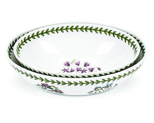 Portmeirion Botanic Garden Oval Nesting Bowls Set of 2