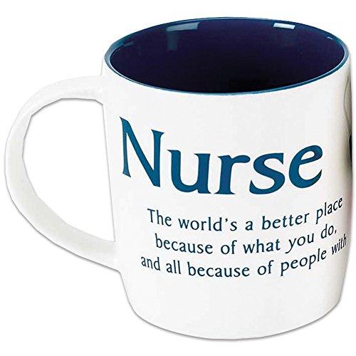 Nurse Hero A Caring Heart Like You Bone China Coffee Cup Mug Thank You Gift