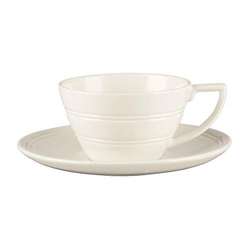 Jasper Conran by Wedgwood Casual Cream Small Tea Saucer