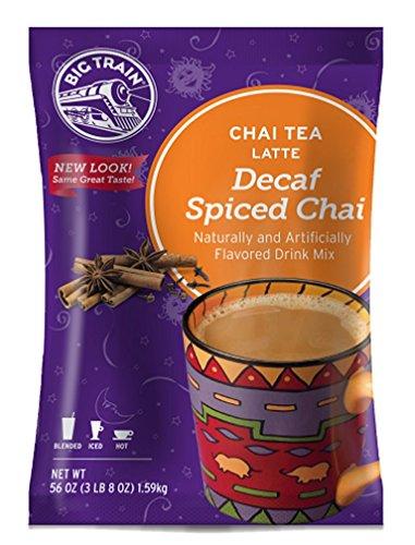 Big Train Chai Tea Latte Decaf Spiced 35 Pound