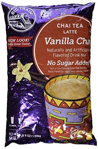 Big Train Chai Tea Latte No Sugar Added Vanilla 35 Pound