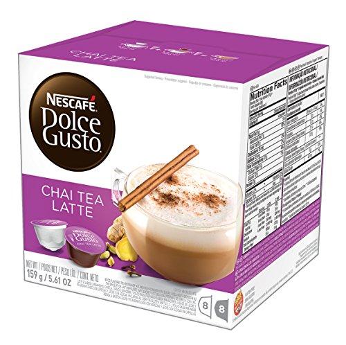 NESCAFÉ Dolce Gusto Coffee Capsules – Chai Tea Latte– 48 Single Serve Pods Makes 24 Specialty Cups   48 Count