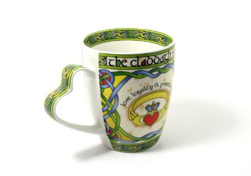 Irish Coffee Cup Claddagh Mug Fine Bone China