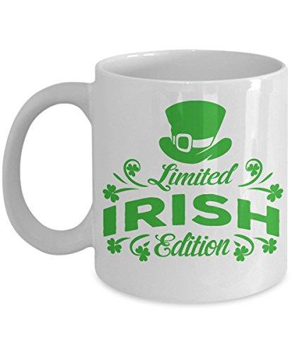 St Patrick Day Coffee mugs St Patrick Day Cups - Limited Irish Edition - St Patrick Day Gift Irish day Coffee Cup 11oz White
