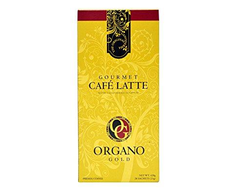 3 box Organo Gold Cafe Latte 100 Certified Organic Gourmet Coffee