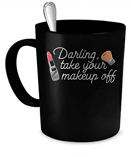 Makeup Coffee Mug 11 oz Makeup funny gift 11 oz black