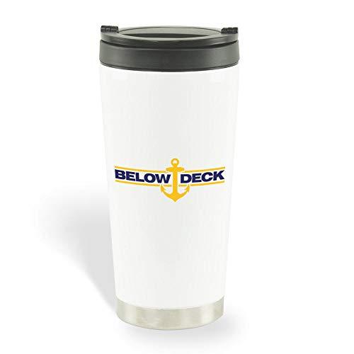 Below Deck Logo Travel Mug