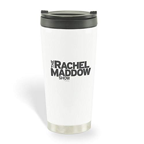 The Rachel Maddow Show Logo Travel Mug