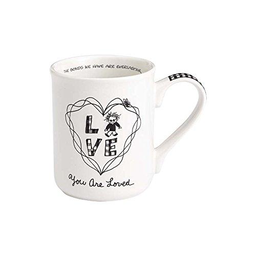 Enesco 4058326 Children of the Inner Light You are Loved Boy Stoneware Coffee Mug 16 oz White