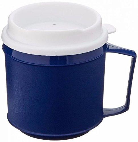 Sammons Preston Insulated Mug with Tumbler Lid - 8 oz Blue