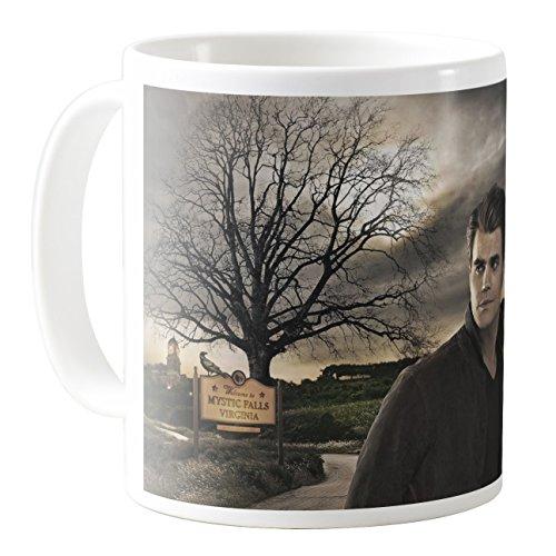 AquaCafeMug - CMSTL-A23455 - 11oz Ceramic Coffee Mug Tea Cup