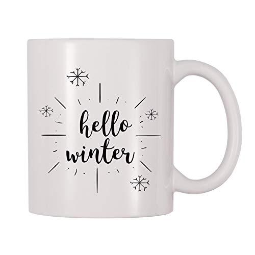 4 All Times Hello Winter Coffee Mug 11 oz