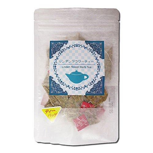 Linden flower tea 15gX15 tea bag set of 2 Good Night relaxing herbal tea  Linden Tea Western linden  Vee nurse