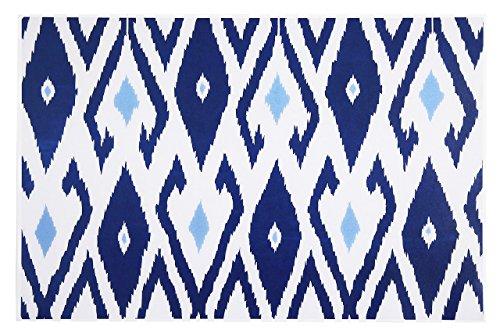 Paper Placemats Table Mats Table Decor Pk 50 Blue Ikat
