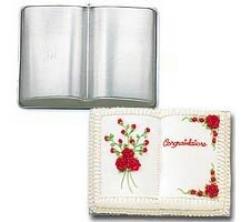 Wilton Cake Pan Large Size Three Mix Book Cake Pan 2105-2521