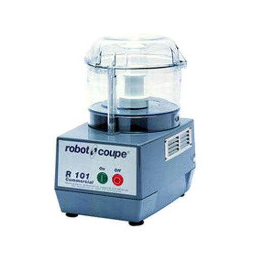 Robot Coupe R101 Commercial Food Processor with 25 Qt Clear Bowl