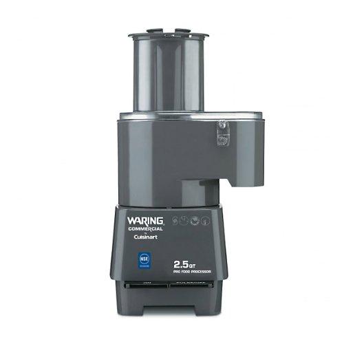 Waring Commercial FP25C Combination Batch BowlContinuous Food Processor 2-12-Quart