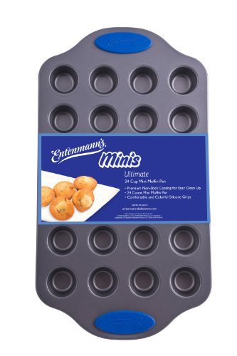 Entenmanns Bakeware ENT29013 Ultimate Mini MuffinCupcake Pan 24-Cup