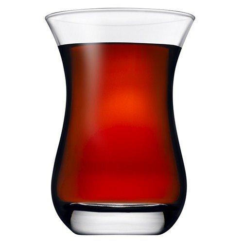 Pasabahce Aida Large Turkish Tea Glasses Set