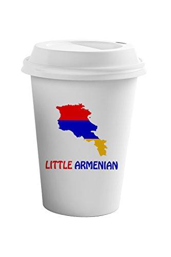 Style In Print Little Armenian Coffee Ceramic Travel Tumbler Mug 11oz
