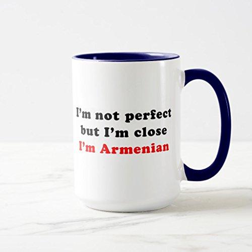 Zazzle Im Armenian Coffee Mug Navy Blue Combo Mug 15 oz