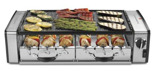 Cuisinart Griddler Electric Grill Griddle - Rotating Skewers