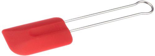 """Rosle 12.6"""" Silicone Spatula, Red"""