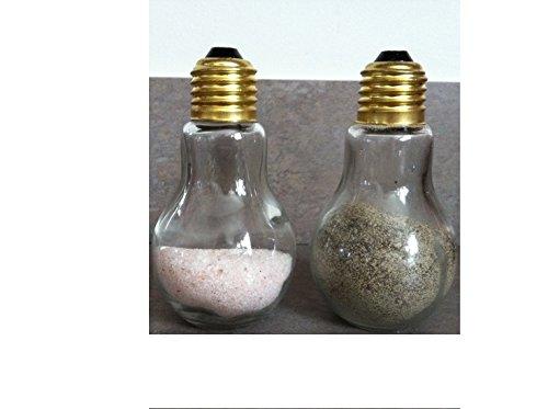 Light Bulb Salt And Pepper Glass Shaker Set
