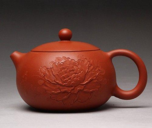 JLTMODE Chinese Teapot Yixing Purple Clay Handmade Tea Pot Zisha Zhu Ni Beauty shapeTeapot