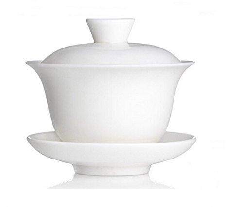 Gaiwan Traditional Tea Cup Comprised of Cup Saucer and Lid Sancai wan tea set teapot kungfu tea set 4