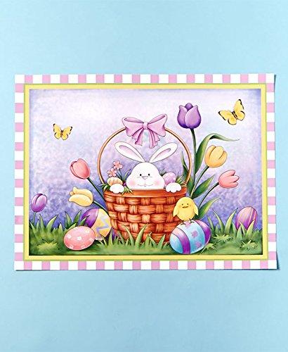 Easter Basket Dishwasher Magnet
