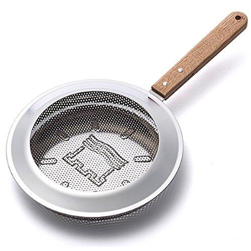 DrMahn Handy Roaster Home Coffee Korean Stainless Steel Wood Self Bean Handy Roaster