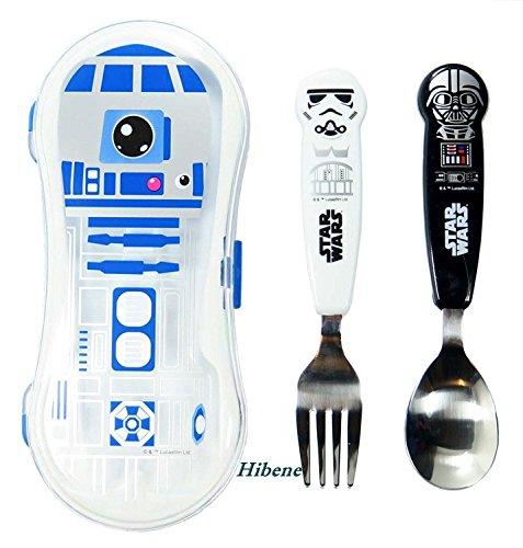 Star Wars Kids SpoonForkR2D2 Case Set