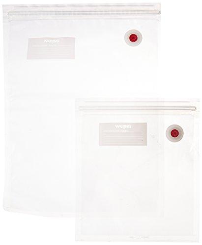 Waring Pro PVS1000CCP Vacuum Sealer Bag Combo Pack