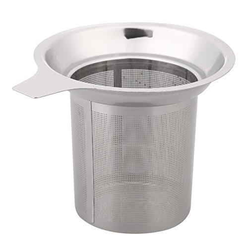 Awakingdemi Mesh Tea Strainer Infuser Reusable Loose Tea Leaf Filter Stainless Steel