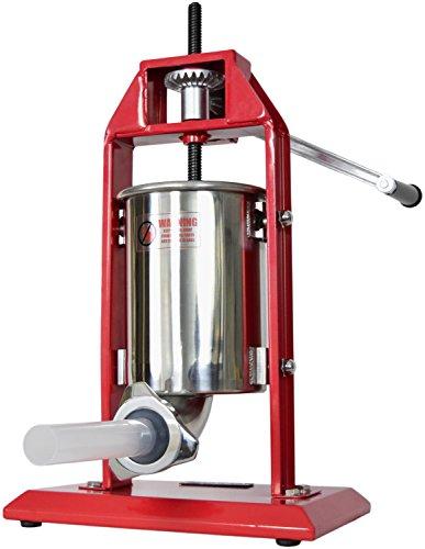 New Vivo Sausage Stuffer Vertical Stainless Steel 3l/7lb 5-7 Pound Meat Filler ~ By Vivo (stufr-v003)