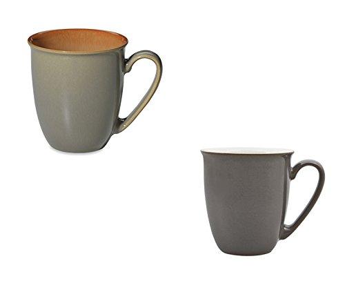 Denby Blends Fire and TruffleCanvas Coffee BeakerMug Set of 8