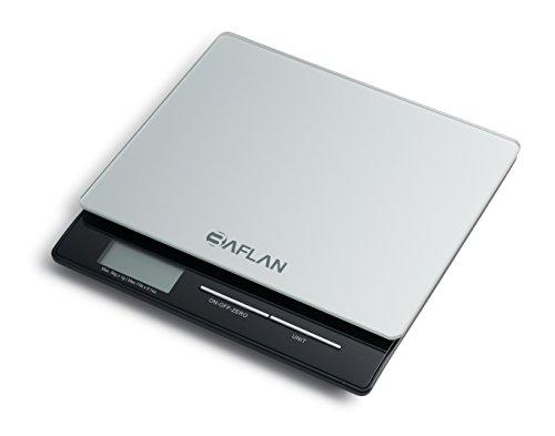 Baflan Professional Digital Kitchen And Postal Scale ★tempered Glass Platform ★high Precision Sensors