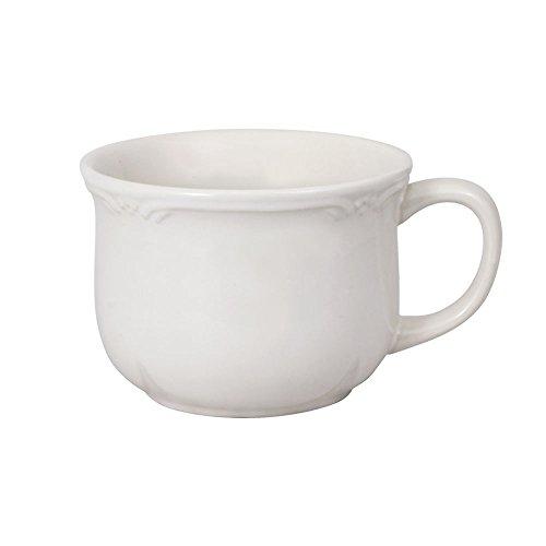 Pfaltzgraff Filigree Jumbo Soup Mug 26-Ounce White