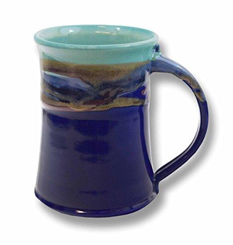 Clay in Motion Handmade Ceramic Large Mug 20oz - Mystic Waters