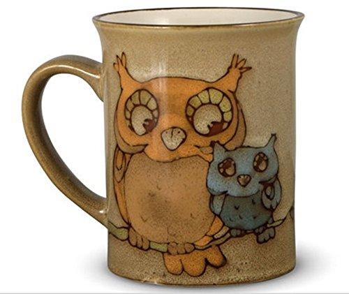 Pfaltzgraff Everyday Owl 16 Oz Coffee Mug - Beige Tan